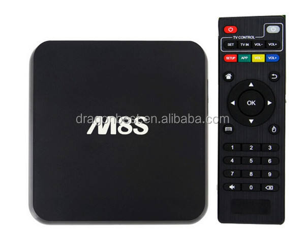 M8S Amlogic S812 Android 5.1 Quad Core Tv Box Google Android 5.1 Tv Box Aml S812/Mx6 Nâng Cấp 2 Gam/8 Gam 2.0 Ghz H.265 4 K Bt4.0 Ap6330