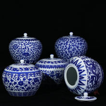 Hot Sell Chinese Ceramic Blue and White Ginger Jar