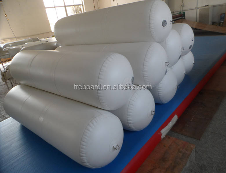 Custom high quality Inflatable dock bumpers boat fenders 24-60 inches