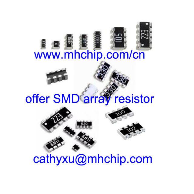 5 pieces Resistor Networks /& Arrays 2.2K 2/% 16Pin SMT