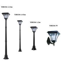 Top Quality Nice-looking solar lights Factory garden standing lamp yard lamp yard post lights pole light