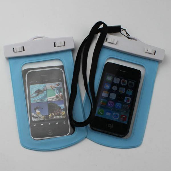 Pvc imperméable à l'eau de téléphone cellulaire