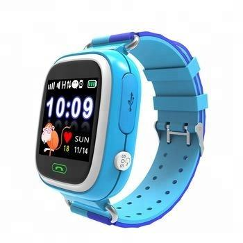 High quality touch screen sos calling gps tracker kids td02 smart watch phone