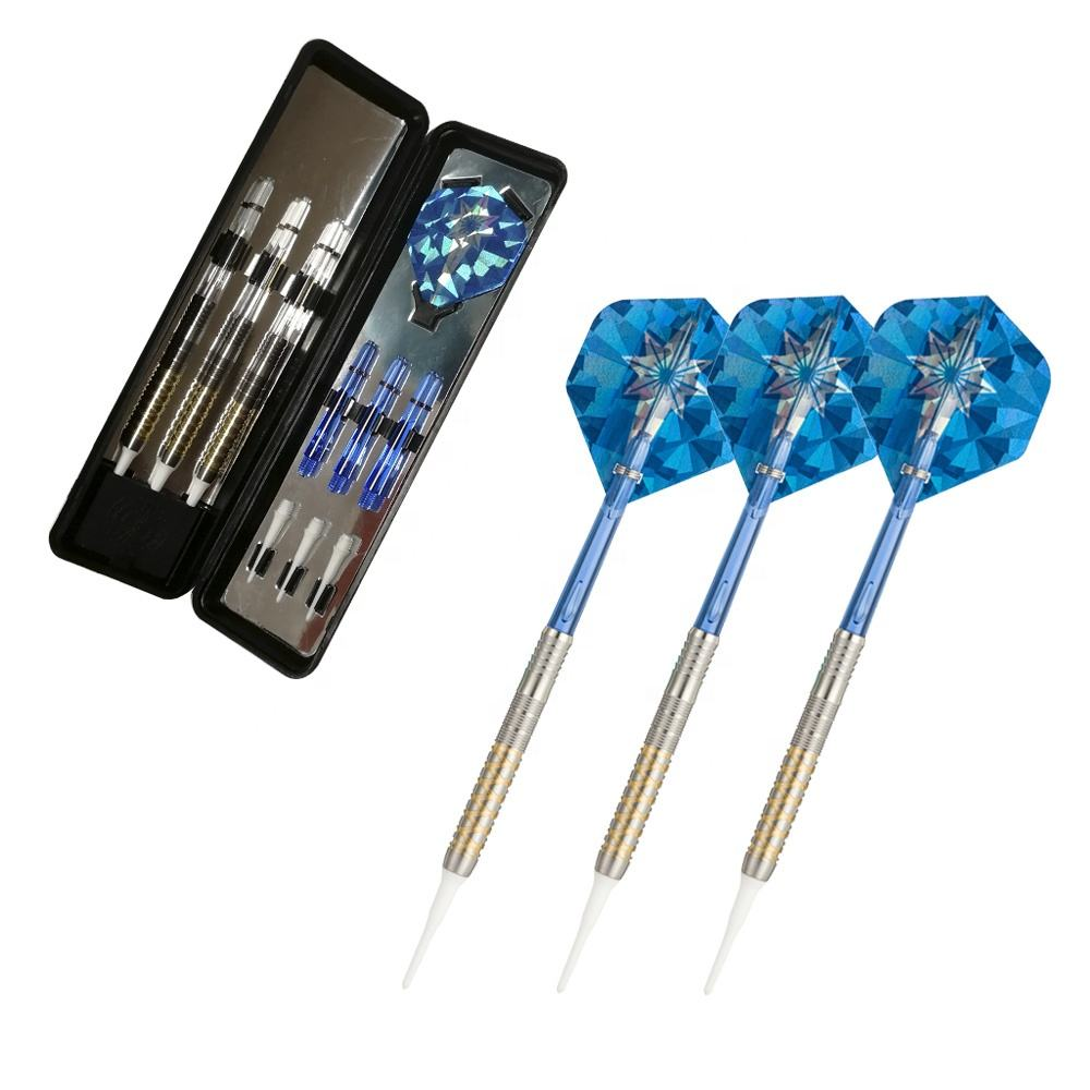 Black or Gold Coated 18.0g & 20.0g Sofft tip tungsten Dart Barrels Sets for Whole-sale & Retail