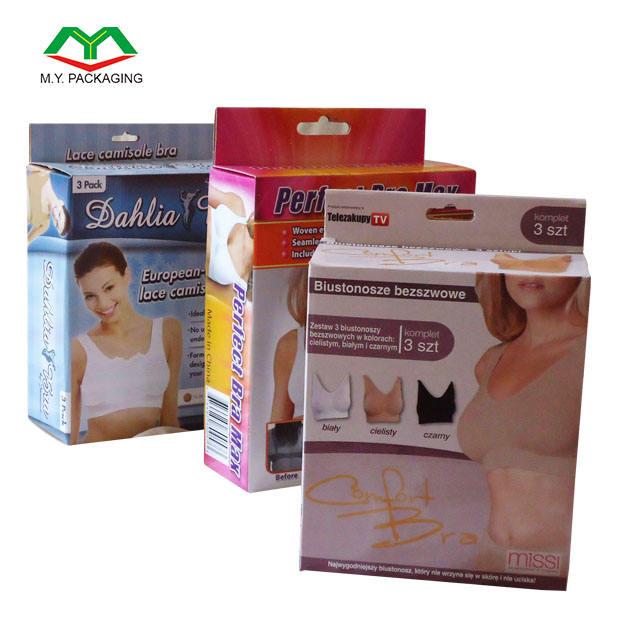 Custom Women Underwear Packaging Box with Company Name