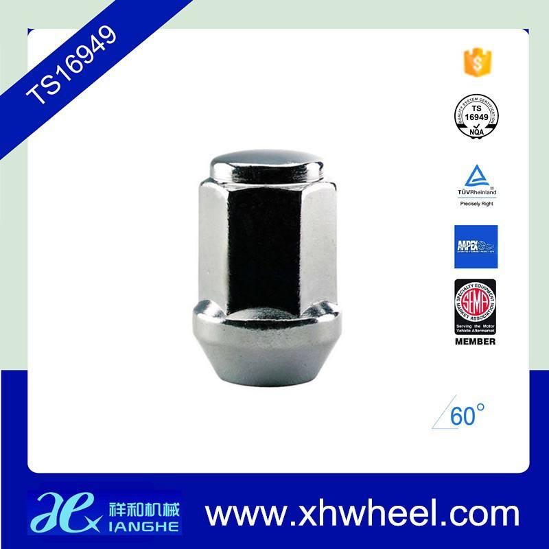 TS16949 phình 20 thép whosale m12 m14x1.5 chrome bánh xe các loại hạt đinh tán