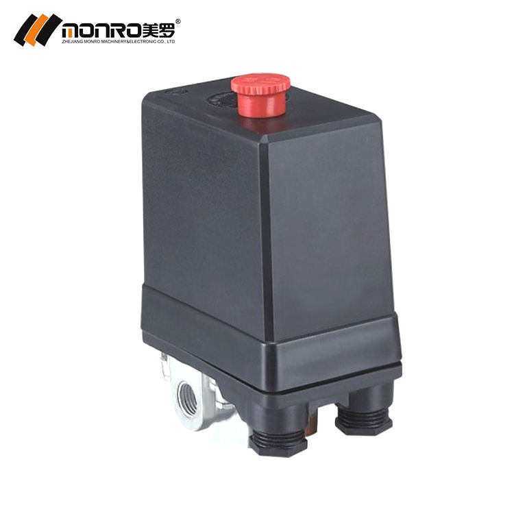 2019 Zhejiang monro air compressor manufacturers one or four way lowes pressure switch air compressor control switch KRQ-3