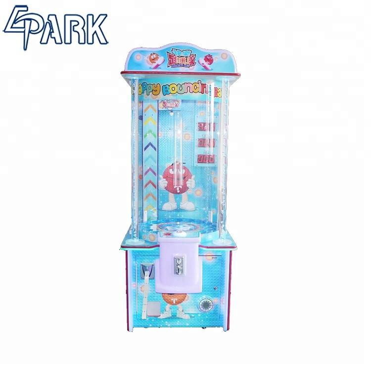 Entertainment game machine happy jumping coin-operated game machine