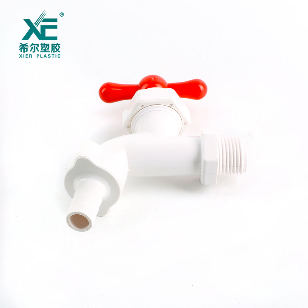 Professional quality ABS handle plastic pvc water faucet tap