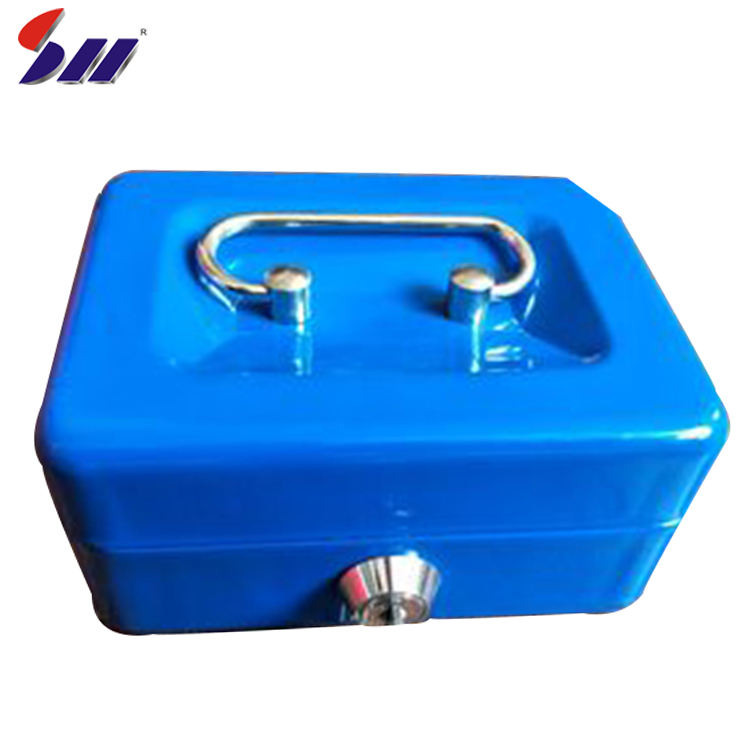 Wholesale China Factory Supply Electrical Safety Products Metal Cash Box With Cover For Money