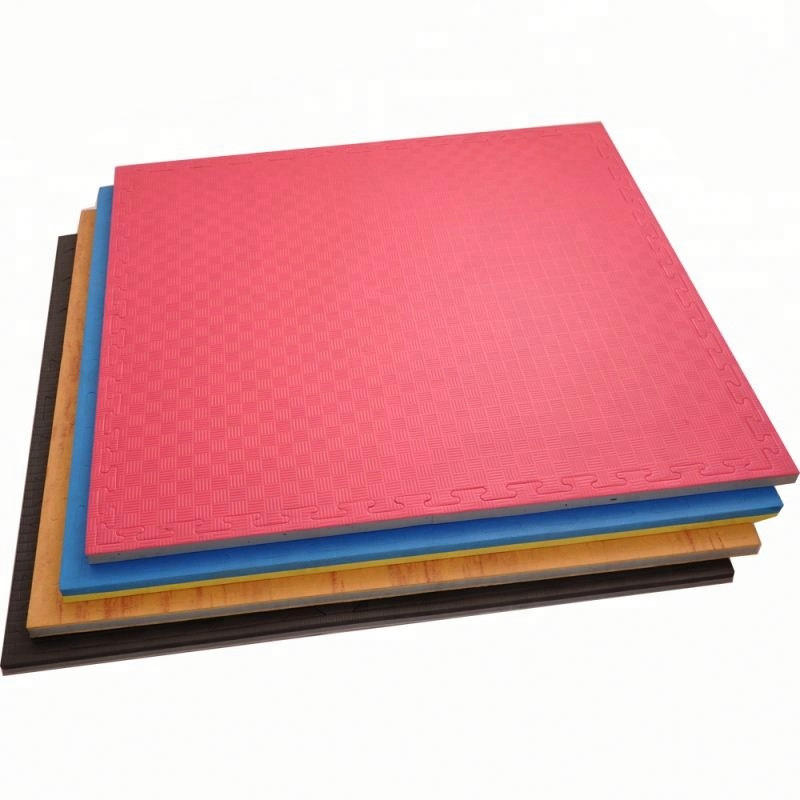 Customized 90kg/cbm Martial Arts Floor Puzzle Mat Tatami Judo Mats