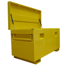 Customized Steel Job Site Tool Box Van forklift Garage Storage Vault Site Security Tool Box