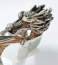 Antique Silver Punk Gothic Skull Head Women And Men's Alloy Claw Spike Armor Knuckle Joint Full Finger Ring dropshipping for men