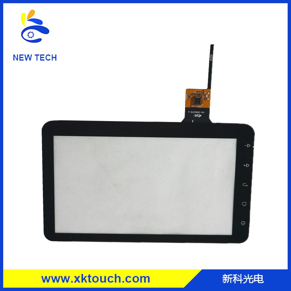 Maßgeschneiderte kapazitive touchscreen-panel mit i2c-schnittstelle für industrie-pda