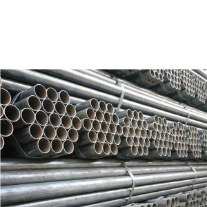 Mild Carbon Steel Straight ERW Welded Black Steel Round Pipe