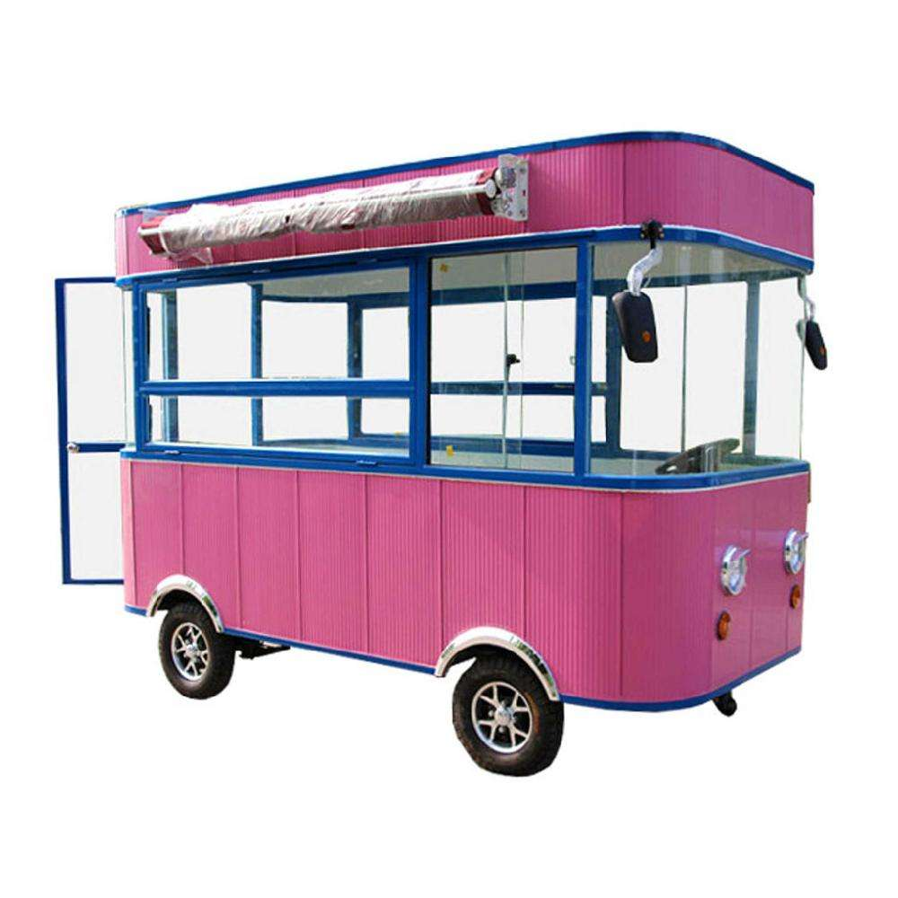 Multi-function mobile food cart/ multi-function mobile street view car /Multi-function mobile food truck
