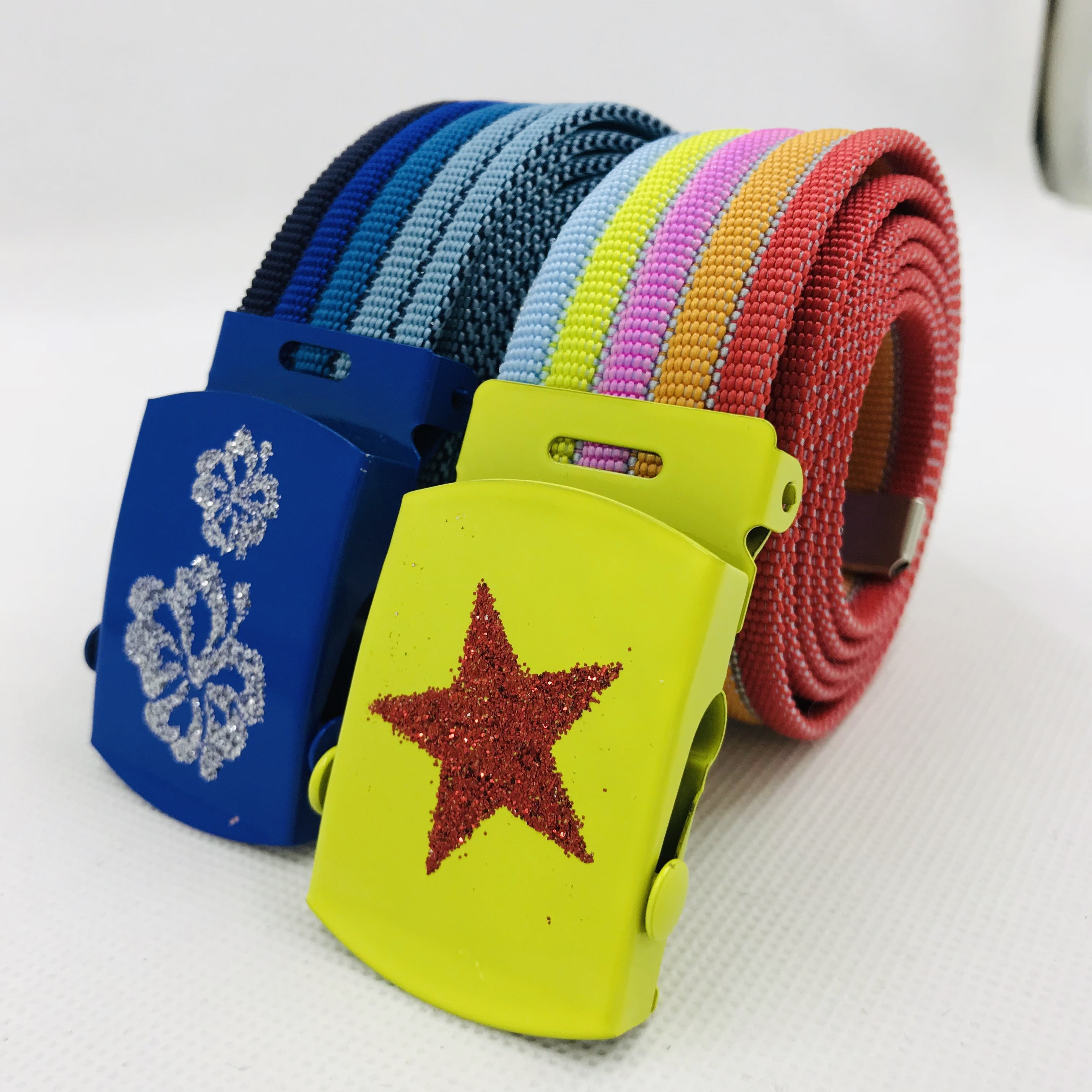 Wholesale Custom Webbing Belts Nylon Canvas Belt For Mens
