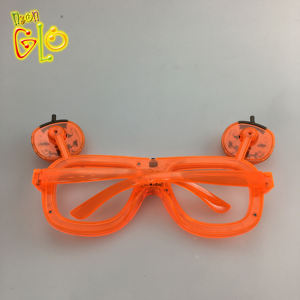 Hot sale Halloween flashing led pumpkin glow glasses gift for kid