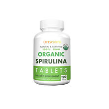 Lifeworth organic spirulina organic chlorella tablets anti cancer supplements