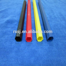 colorful hexagon PVC tube