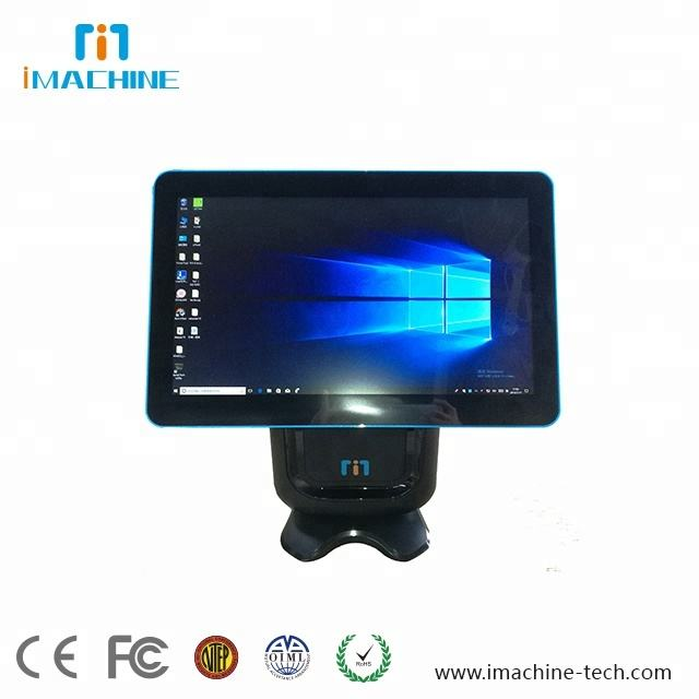 Android Win Linux Desktop POS Hardware Kapazitiver Touchscreen 80mm Thermo drucker Made in China
