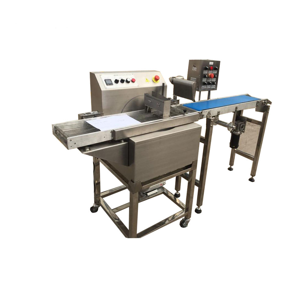 2020 Newest table top mini chocolate enrobing machine