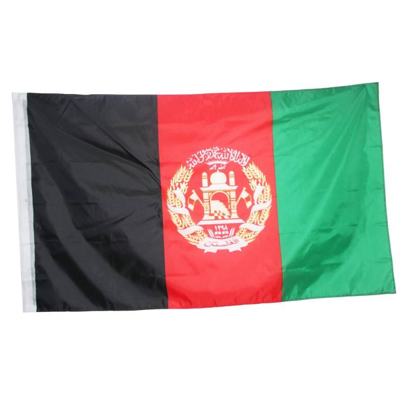 <span class=keywords><strong>Afghanistan</strong></span> Vlag 3x5 ft Banner Afghaanse Afghani Kabul 90*150cm Opknoping Office/Activiteit/parade /Festival/Home Decoratie