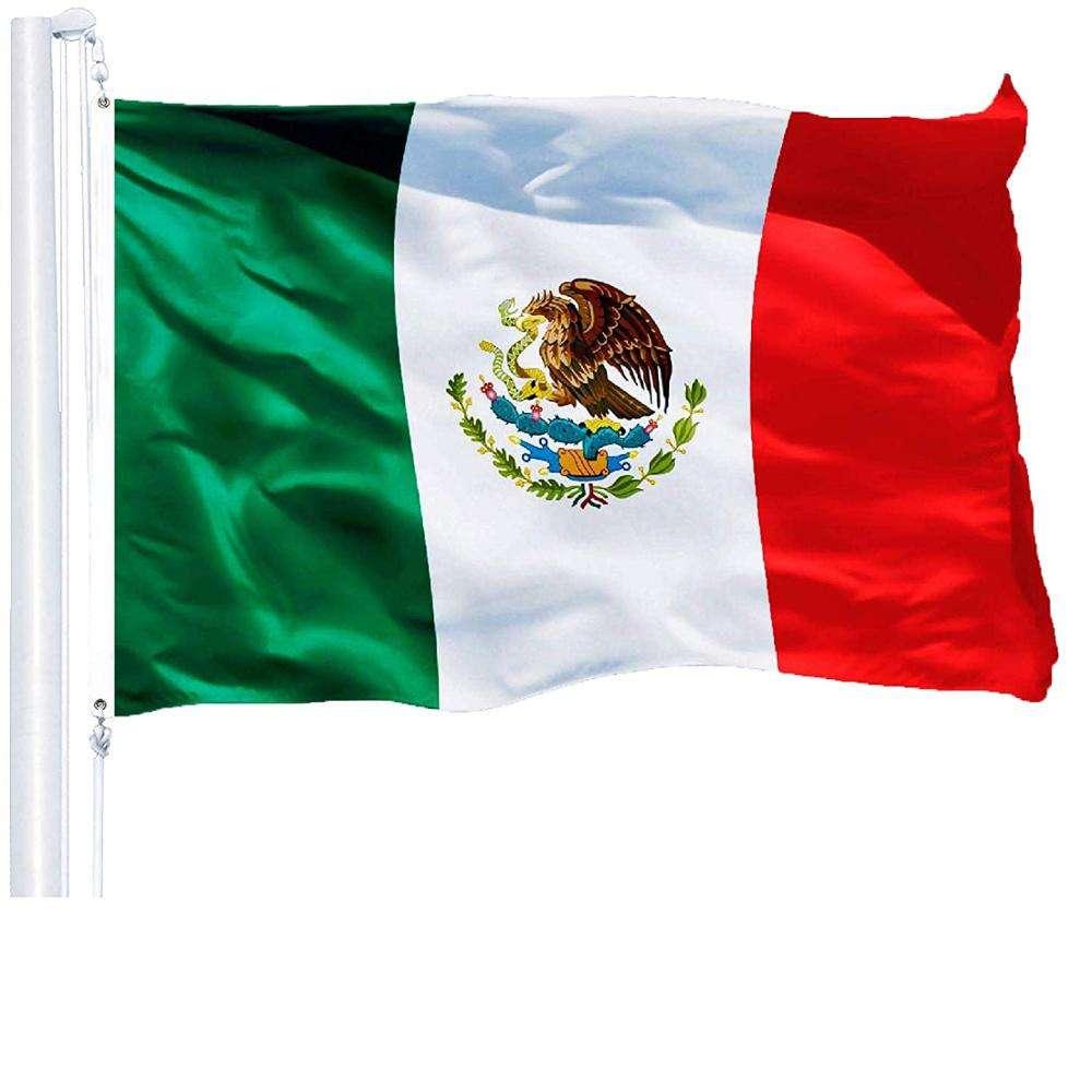 Mexico Flag Bandera Estados Unidos Mexicanos Banner 3x5ft