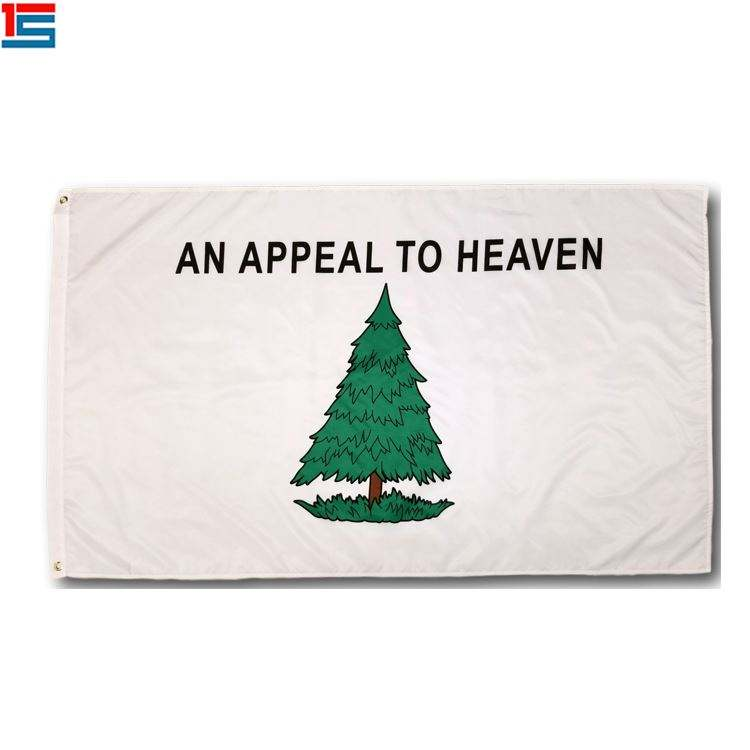 Silk screen printing 90*150cm DROP SHIPPING Appeal to Heaven Flag