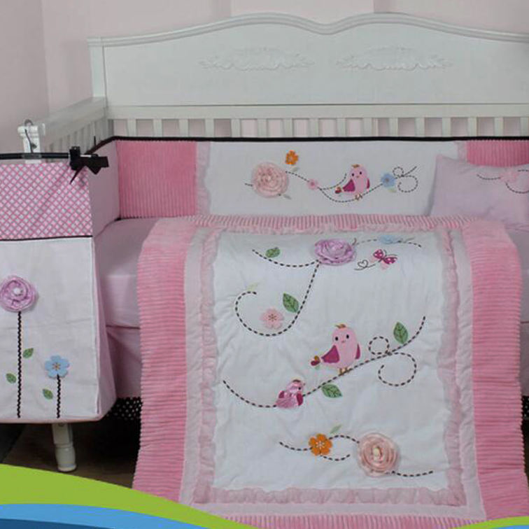 Bird Baby bedding set baby play mat baby blanket