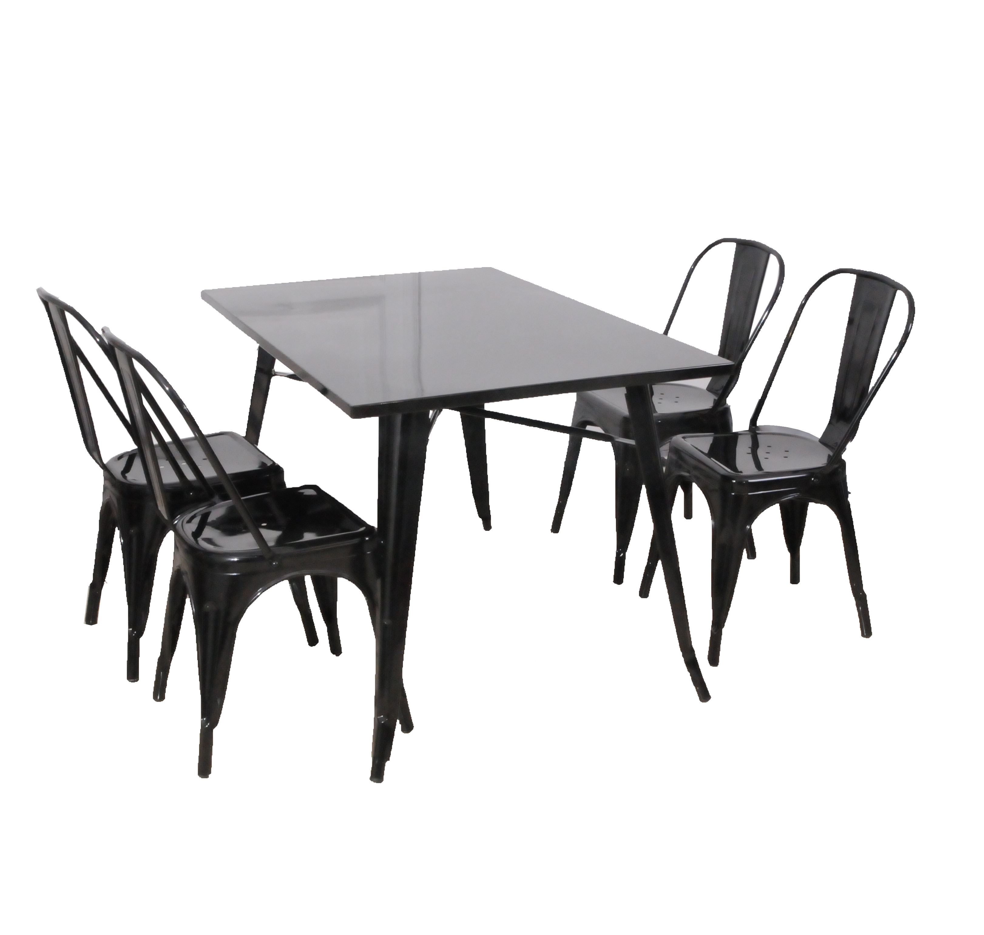 new design outdoor furniture outdoor table metal table and chair for sale