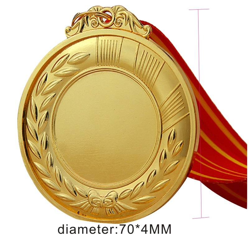 Ads Wholesale Custom Promotional Activity Metal Sports Blank Medal
