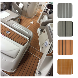 Customized Boat Synthetic EVA Floor Decking Faux Teak Marine