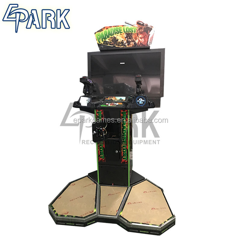 mini arcade indoor children cartoon kiddies game EPARK gun shoot game machine free download