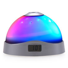 Luminous Night Desk Projector Alarm Clock with Dynamic Star Projection