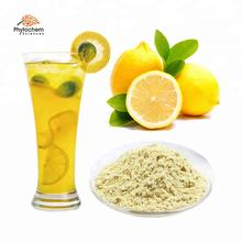 Organic instant fruit juice dried lemon powder