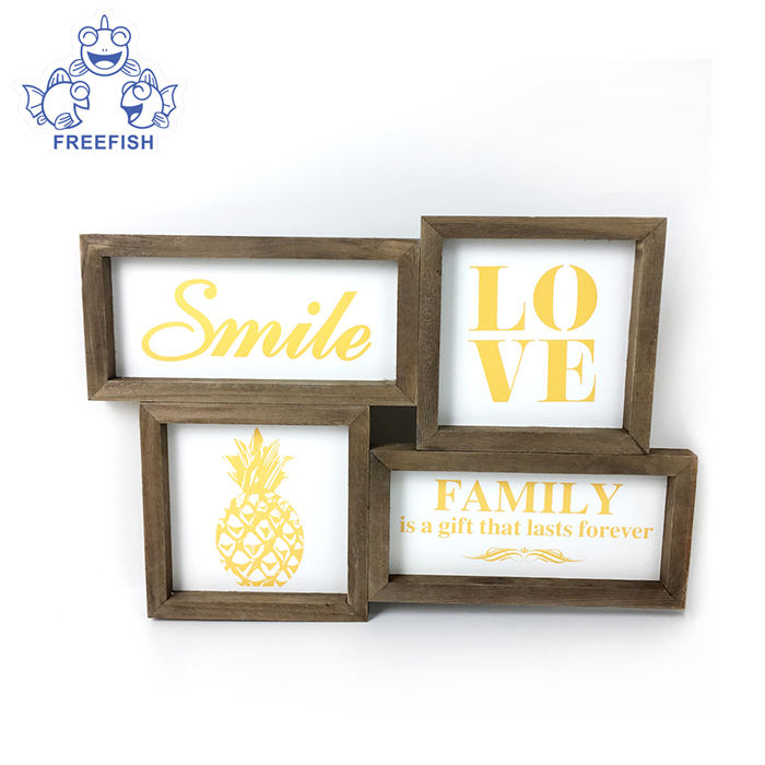 Multiple Picture Frames Creative Combination MDF Wall Photo Frame PICTURE PHOTO FRAME
