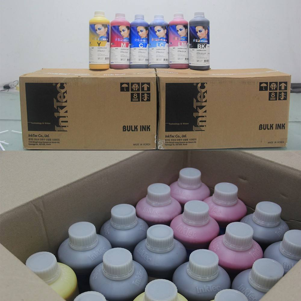 South Korea Inktec Sublimation Ink For sublimation printing