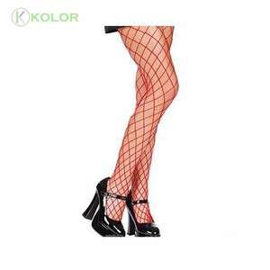 KOLOR A 90721 fishnet donne mature tacchi alti calza tubo