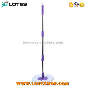 Spin magic mop Telescopic pole