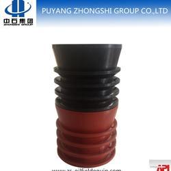 oilfield non- rotating cementing rubber plug