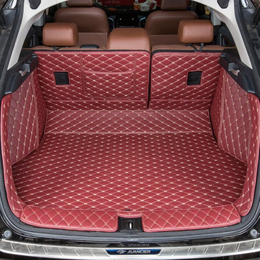Full Set Position and Special Cars Size car floor waterproof trunk mat for 2008/3008/4008/RCZ