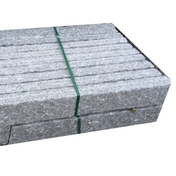 Natural Granite Standard Bordstein Sizes Curbstone Types, China Supplier Outdoor Landscape Stone Kerb Stone/