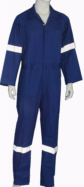 Coverall Style and Flame-Retardant Feature Fire Resistant One Piece Boiler Suit