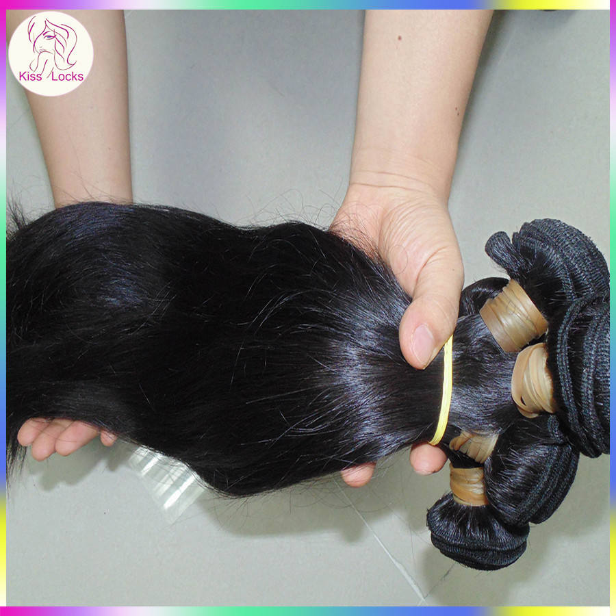 10A Blessing Girl Weaves RAW Persian Virgin Straight Human Hair Temple Countryside Donors Rare Exotic Kilo Deal