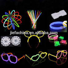 8Inch Chemical Liquid Glow Bracelet Kit Glow Stick