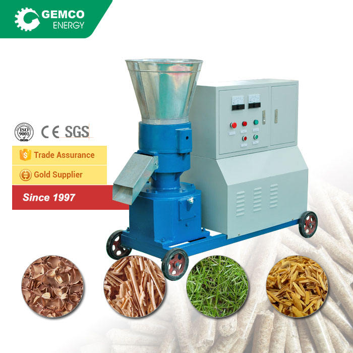 coconut pellet mill making efb pellets with biofuel pellet machine
