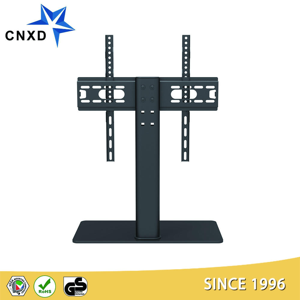 TB007 portable tv cart Universal TV Desk Stand/Base LCD LED TV Table Wall Mount for 26 to 55 inch Flat screen