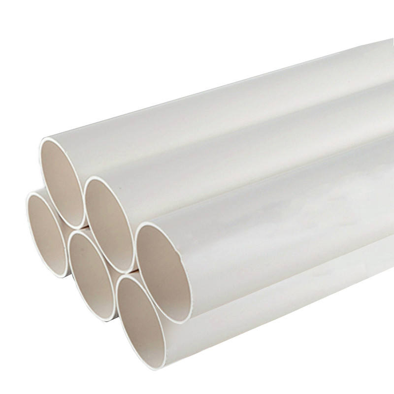 large diameter plastic water and drain pipe 200mm 300mm 400mm upvc pvc pipe prices list