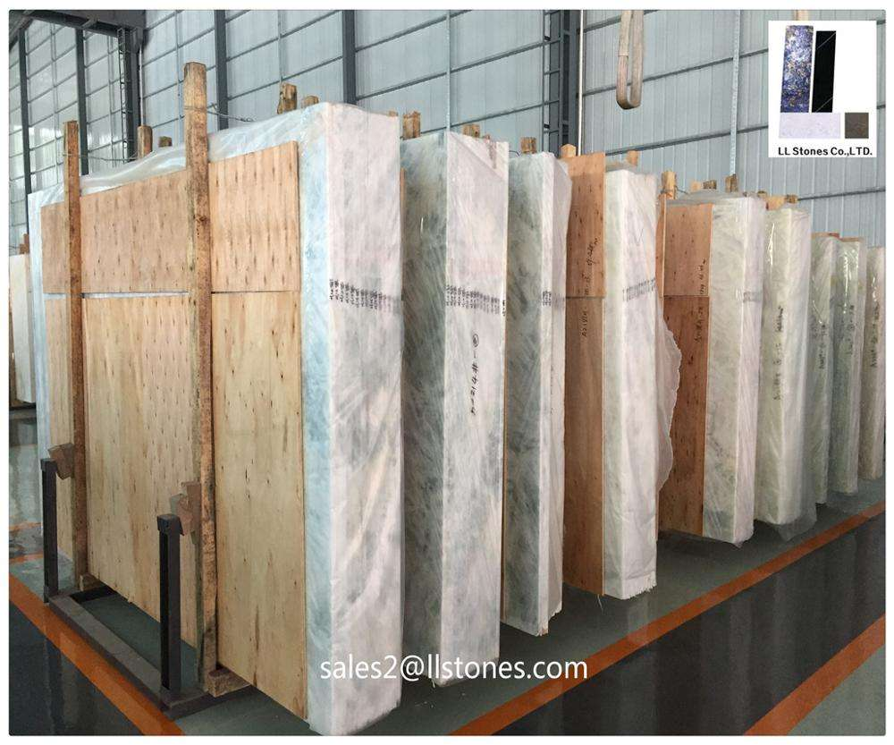 Pakistan white onyx slabs and wall panels onyx from china supplier Foshan